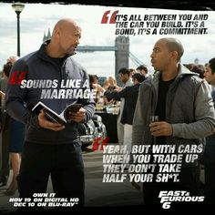 Fast & Furious quotes