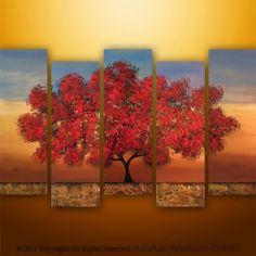 Beautiful multi-canvas painting