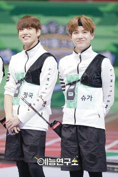 Jungkook and Suga ❤ ISAC 2016 #BTS #방탄소년단