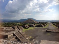 We visited the pyramid in Mexico prior to my visit to those in Giza!
