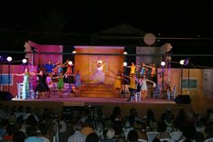Kassiopi theatre team in action !!!