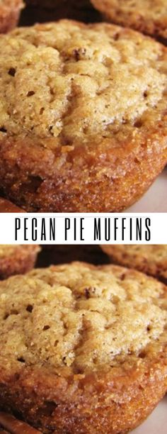 I love pie. I love all kinds of pie. I will never turn down a slice of homemade pie. But if I had to choose my absolute favorite pie, it would be Pecan Pie. Breakfast Pastries, Breakfast Cookies, Breakfast Recipes, Dessert Recipes, Breakfast Ideas, Gluten Free Desserts, Just Desserts, Delicious Desserts, Pecan Recipes
