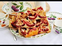 Bardzo smaczne, proste ciasto ze śliwkami i kruszonką. Pięknie pachnie owocami, cynamonem i apetycznie wygląda. Jest soczyste i maślane. Ciasto ze śliwkami i kruszonką - Mała Cukierenka Quiche, Cauliflower, French Toast, Baking, Vegetables, Breakfast, Cakes, Party Ideas, Food