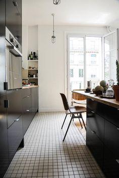 24 super ideas for home dco cuisine inspiration Studio Interior, Interior Design Kitchen, Kitchen Decor, Socialite Family, Home Gym Design, Compact Living, Family Kitchen, Home Wallpaper, Trendy Home