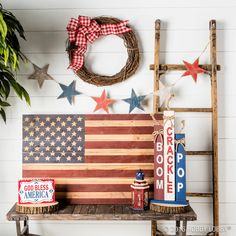 This 4th of July, add red, white and WOW to your front door decor!