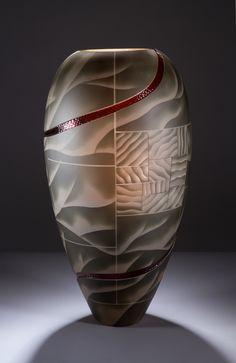 Vases – Home Decor : Glass Engraver Kevin Gordon (Norwegian: -Read More –