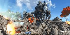 Spectacular Fallout 4 Fight Pits A Thousand Deathclaws Against Ten Liberty Primes