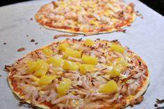 Viktväktarpizza på tortillabröd Beef Wellington, Shrimp Toast, Gordon Ramsey, Tex Mex, Hawaiian Pizza, Vegetable Pizza, Feta, The Best