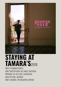 Minimalist Music, Minimalist Poster, George Ezra Album, Film Posters, Music Posters, Music Collage, Music Album Covers, Music Wall, Beautiful Dream
