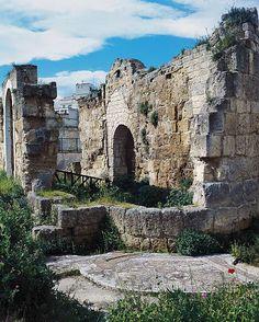 Ruins of Baptistery of San Giovanni, 4th-5th century, Canosa, Apulia, Italy
