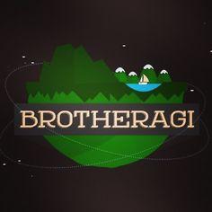 Planeta Edigas. Para o canal BrotherAGI. #conceptlogo #logodesign #youtuber #graphicdesign #flatdesign