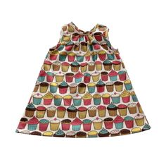 A personal favorite from my Etsy shop https://www.etsy.com/listing/236063673/organic-cotton-racerback-dress-cupcake