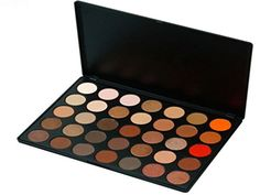 Pure Vie Professional 35 Colors Eyeshadow Palette Makeup Contouring Kit for Salon and Daily Use ** Visit the image link more details.