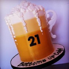 Twitter / sweetnsaucyshop: Buttercream beer cake ...