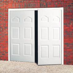 Steel Side Hinged Garage Doors Hinges, Door Design, Garage Door Hinges, Insulated Panels, Side Hinged Garage Doors, Door Brackets, Window Design, Garage, Doors
