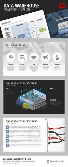 Data warehouse powerpoint template e business powerpoint data warehouse powerpoint template explain data warehouse ideas with the help of professional illustrations toneelgroepblik Gallery
