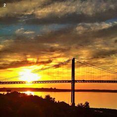 Nova Scotia one of Halifax bridges