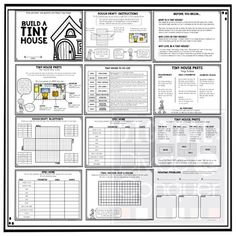 Surface Area And Volume Home Design Blueprint Project