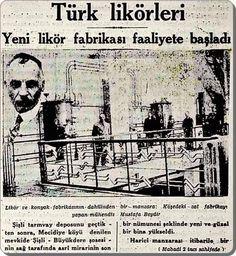Mecidiyeköy Likör Fabrikası (1930'lar) #eskihaberler #birzamanlar #istanlook #nostalji