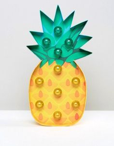 Fun and unique Pineapple style lighting decor for her, him, boys, girls, kids, and teens.