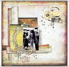 Jorunn`s Fristed: July Challange - Creative Embellishments Love Challenge, Embellishments, Vintage World Maps, Creative, Cards, Scrapbooking, Challenges, Layout, Painting
