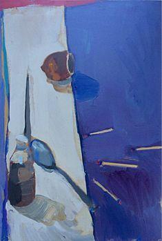 Richard Diebenkorn, Still life with matches