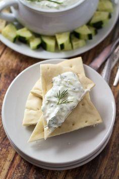 Authentic Greek Tzatziki - The Wanderlust Kitchen
