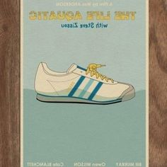 Want! Poster On, Poster Prints, Alfred Hitchcock The Birds, The Royal Tenenbaums, Owen Wilson, Little Miss Sunshine, Wes Anderson, Movie Prints, Life Aquatic