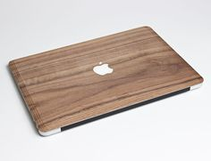 Laser-cut to ensure it's precise, the MacBook Wood Case simply sticks on to your MacBook to stay in place while retaining the accessibility to the ports.