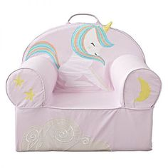 Unicorn Chair | Eighteen Unicorn Favorites for Kids