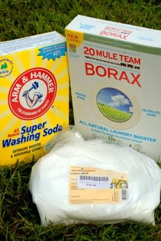 A Homemade Laundry Detergent Recipe Safe for Septic?...No Fels Naptha or Zote Soap....Considering a Try:  2 c. Borax  1c. Washing Soda  1/2 c Citric Acid  1/2 c Biz