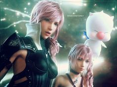 Final Fantasy Girls, Lightning Final Fantasy, Final Fantasy Xii, Final Fantasy Characters, Final Fantasy Artwork, Fantasy Warrior, Fantasy Series, Lightning Images, Art Manga