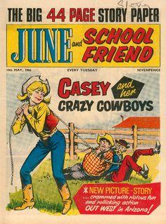 June & School Friend