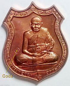 thai amulet luang pu tim wat phra khao in ayutthaya historical park thailand