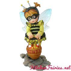 Halloween Bumble Bee Fairie - From Series Twenty Three of the My Little Kitchen Fairies collection