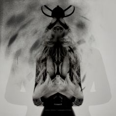 THE LOST SCRAPBOOK / RORSCHACH GIRL | for original & details ➸♡➸ honeypieLIVINGetc | © hannah lemholt photography