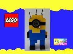 Lego Easy Instructions # How to build a minion from Lego Bricks (ต่อเลโก...