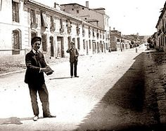 ARANJUEZ  calle de Stuar 1905 (Liborio C. Porset (ARCHIVO RAGEL)) Tags: