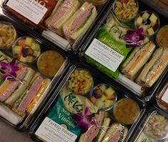 Assorted executive box lunch for your next luxury trip #LuxuryTravel #Picnique…