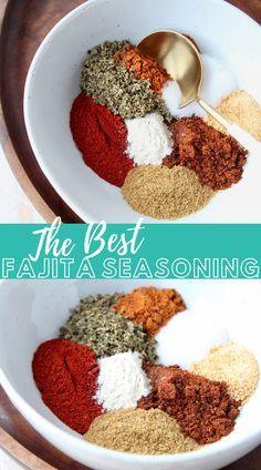 Crunchwrap Supreme, Homemade Fajita Seasoning, Chicken Seasoning, Seasoning Mixes, Best Fajita Seasoning Recipe, Chicken Fajitas Seasoning, Steak Fajitas, Steak Fajita Marinade, Homemade Spices