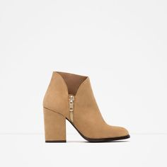 Image 1 of LEATHER WESTERN BOOT from Zara
