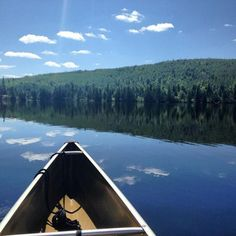 Canoeing on the Boundary Waters in Minnesota