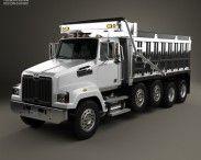 3D model of Western Star 4700 Set Forward Dump Truck 2011