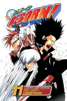 Katekyo Hitman Reborn Volume Cover 11