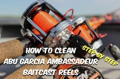How To Clean Abu Garcia Ambassadeur Fishing Reels with simple step by step instructions. How To Clean Abu Garcia Ambassadeur Fishing Reels with simple step by step instructions. Deep Sea Fishing, Gone Fishing, Best Fishing, Fishing Reels, Fishing Tips, Fishing Lures, Fishing Tackle, Trout Fishing, Fishing Stuff