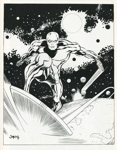 Silver Surfer by Barry Windsor Smith