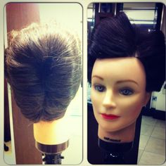 #vintage #hairup
