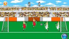 Yeni eğlenceli futbol oyunumuz