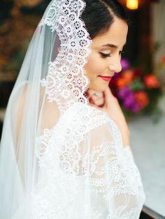 The Mantilla Company wedding veil