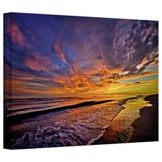 Antonio Raggio 'The Sunset' Gallery-Wrapped Canvas